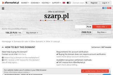 Firma Szarp Piotr Roggenbuck - Kosmetyki motoryzacyjne Złotów