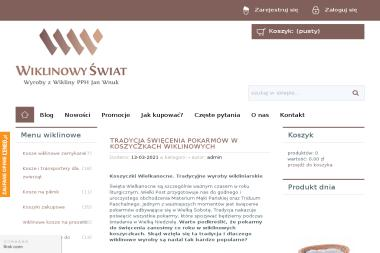 Wyroby z Wikliny PPH Jan Wnuk - Kosze prezentowe Rudnik nad Sanem