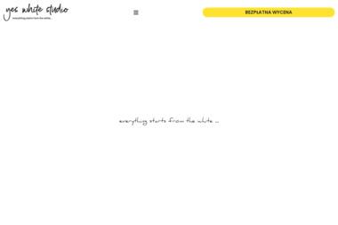 YES WHITE STUDIO - Strony internetowe Łomża