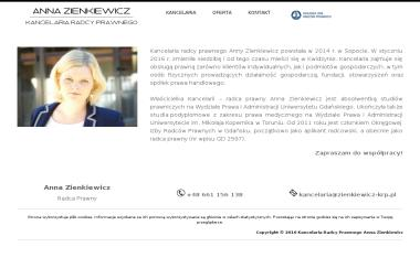 Kancelaria Radcy Prawnego Anna Zienkiewicz - Porady Prawne Kwidzyn