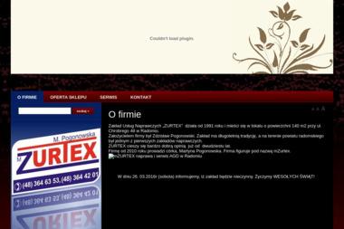 Zakład Usług Radiowo-Telewizyjnych PHU Mzurtex Martyna Pogonowska - Sikora - Instalowanie sprzętu RTV, AGD Radom