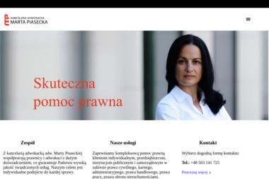 Marta Piasecka Adwokat Kancelaria Adwokacka - Adwokat Szczytno