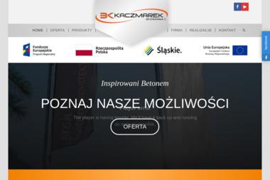 Betoniarnia Kaczmarek - Elementy Ogrodzeniowe Betonowe Kostkowice