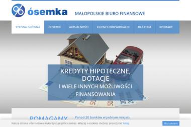 Małopolskie Biuro Finansowe ÓSEMKA - Kredyt gotówkowy Myślenice