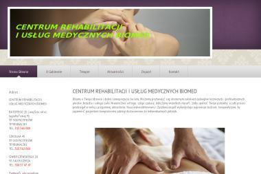 Centrum Rehabilitacji i Usług Medycznych BioMed - Rehabilitanci medyczni Piotrków Trybunalski