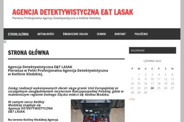 Agencja Detektywistyczna E&T LASAK - Skup długów Kamieniec