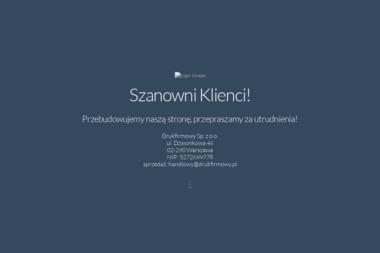 Drukfirmowy Sp. z o.o. - Wizytówki Warszawa