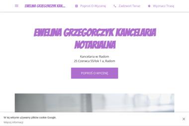 Kancelaria Notarialna Notariusz Ewelina Grzegorczyk - Notariusz Radom