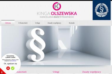 Kancelaria Radcy Prawnego Kinga Olszewska - Prawnik Sepno