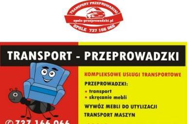 Przeprowadzki Opole 737166066 - Firma transportowa Opole
