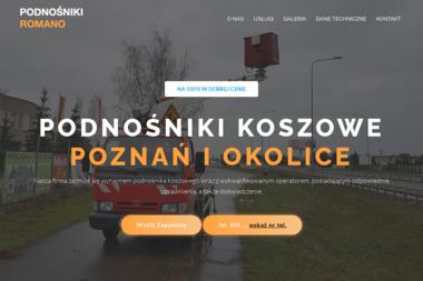 P.W. Romano - Maszyny budowlane różne Kórnik