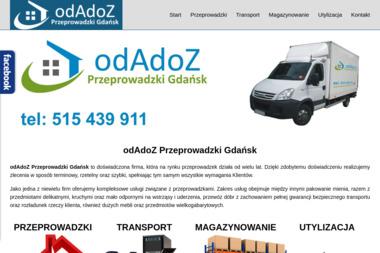 odAdoZ Przeprowadzki Gdańsk - Przeprowadzki międzynarodowe Gdańsk