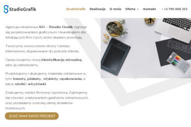 SG - Studiografik - Strony internetowe Koszalin