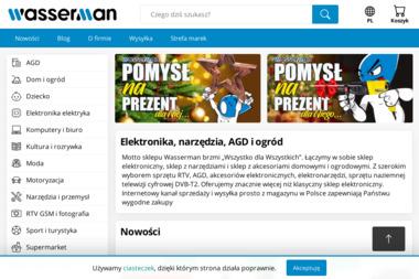 Wasserman - Krzysztof Wasilewski - Sklep internetowy Trzebiatów
