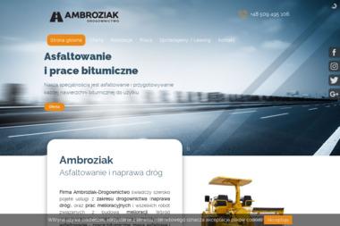 Ambroziak-Drogownictwo - Roboty ziemne Gardno