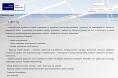 Usługi Projektowe Artur Roguszka - Projekty Domów Nałęczów