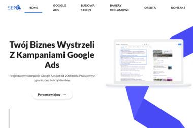SEMUP - Reklama w Google, Projektowanie Stron www - Reklama Adwords Gdynia