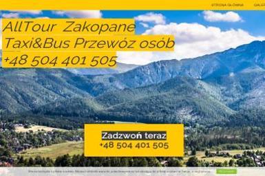Taxi&bus Zakopane AllTour - Przewóz osób Zakopane
