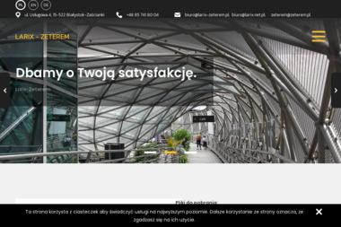 Zeterem - Konstrukcje stalowe Białystok