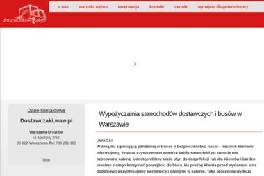Dostawczaki.waw.pl - Wypożyczalnia samochodów Warszawa