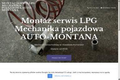 AUTO-MONTANA - Auto gaz Kowalewo Pomorskie