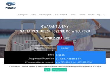 Protection Agencja Ubezpieczeniowa - Pośrednictwo Finansowo Handlowe - Ubezpieczenie firmy Słupsk