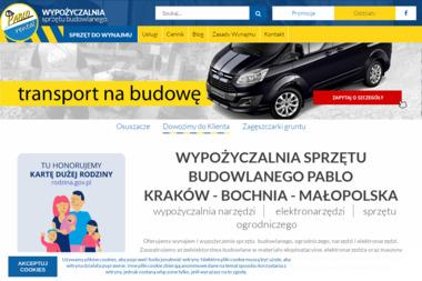 Wypożyczalnia Sprzętu Budowlanego PABLO Kraków - Wynajem Rusztowania Kraków