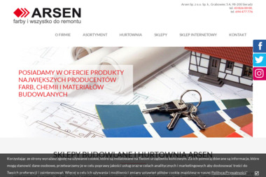 Arsen Sp. z o.o. Sp. k. - Styropian do Ocieplenia Sieradz