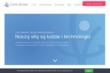 Certo Broker Sp. z o.o. - Ubezpieczenia Grupowe Sopot