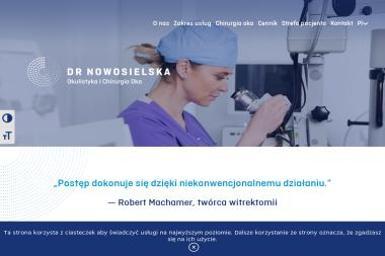 Dr Nowosielska Okulistyka i Chirurgia Oka - Okulista Warszawa