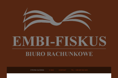 "Biuro Rachunkowe ""EMBI - FISKUS"" Marlena Bruch - Firma audytorska Łask"