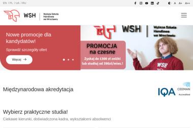 Wyższa Szkoła Handlowa we Wrocławiu - Badania i rozwój, analizy Wrocław