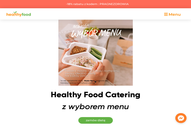 Catering dietetyczny Healthy Food - Dieta Na Zamówienie Pabianice
