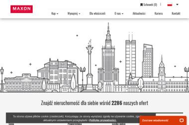 MAXON Nieruchomo艣ci Sp. z o.o. - Biuro do wynaj臋cia Warszawa