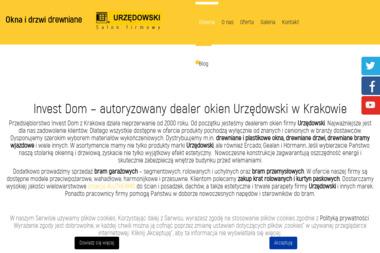 F.H.U. INVEST-DOM P. Dzieża, W. Wojtaszek - Okna drewniane Kraków