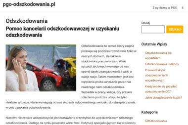 Polska Grupa Odszkodowawcza PGO - Prawnik Wałbrzych