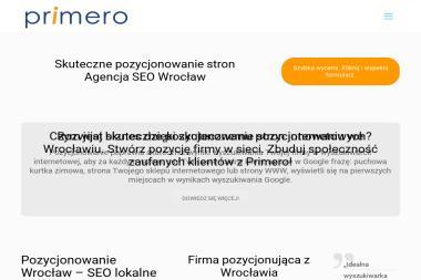 PRIMERO - Reklama internetowa Wrocław