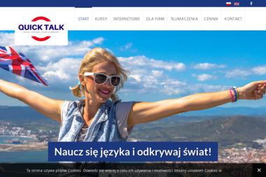 Szkoła Językowa i Biuro Tłumaczeń Quick Talk Katarzyna Wierzchowska - Szkoła Językowa Świdnik