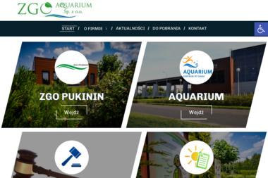 ZGO Aquarium Sp. z o.o. - Zaplecze budowlane Rawa Mazowiecka