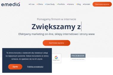 emedia.com.pl - Grzegorz Wysocki - Projektowanie Serwisów Internetowych Lublin