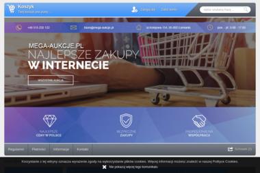 Mega-Aukcje.pl - Projekty Sklepu Internetowego Łomianki
