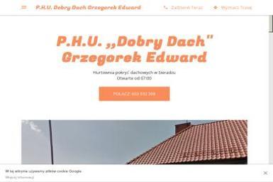 P.H.U Dobry Dach Edward Grzegorek - Hurtownia elektryczna Sieradz