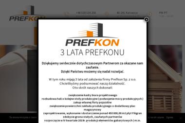 Prefkon Sp. z o.o. - Roboty Żelbetowe Katowice