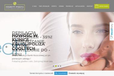 Sekrety Piękna Klinika Medycyny Estetycznej - Masaż Kraków
