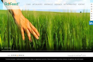 Adifeed - produkty dla trzody - Trzoda Warszawa