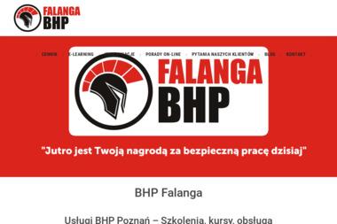 BHP Falanga - Kursy BHP Dopiewo