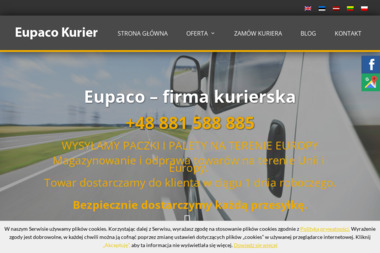 EUPACO Firma Kurierska - Kurier Wólka Kosowska