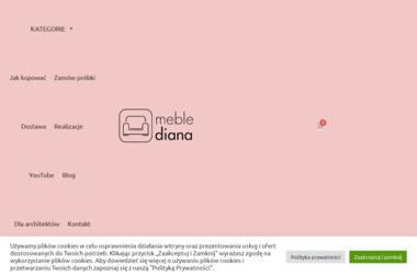 Meble Diana Pagowska Danuta - Meble na wymiar Szwelice