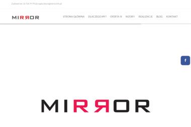 MIRROR Jakub Ziemba - Druk Cyfrowy Na Tkaninach Gliwice