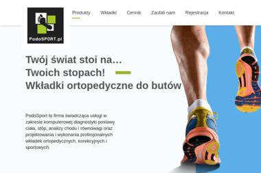 Wkładki ortopedyczne PodoSport - Ortopeda Kraków